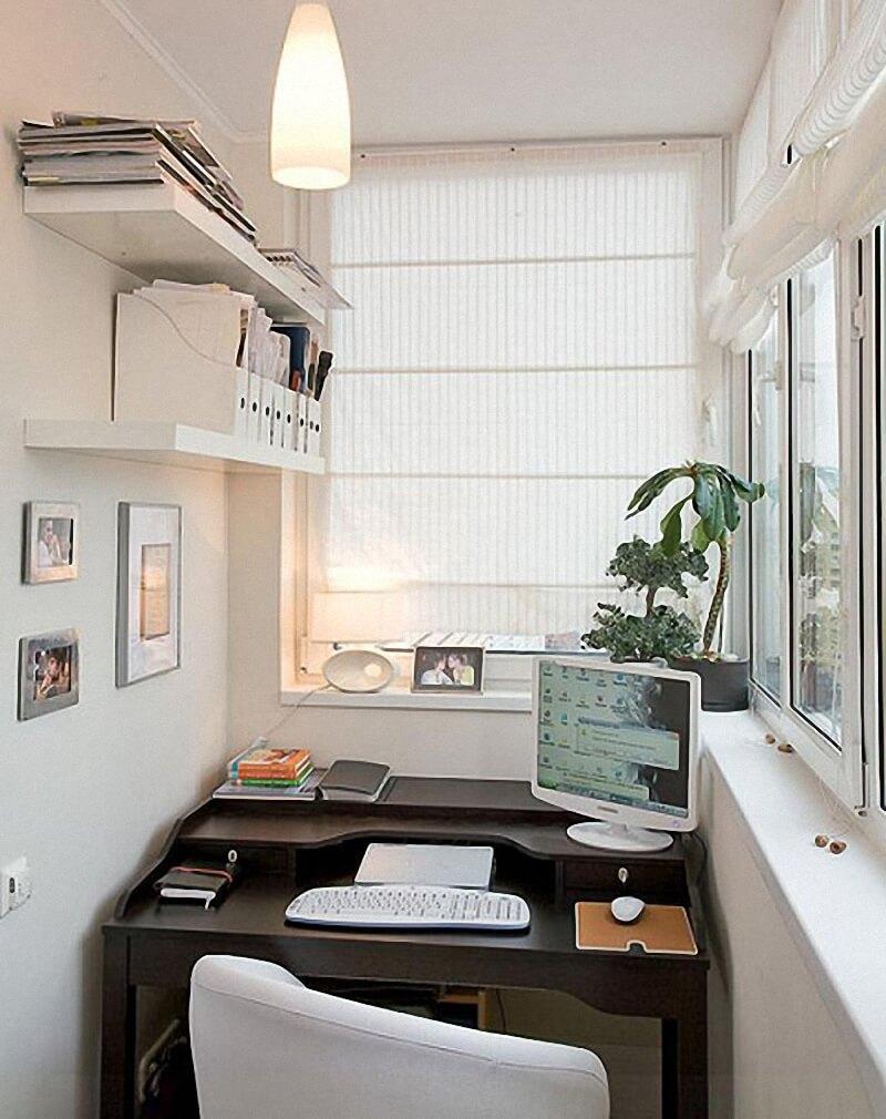 """Создание рабочего кабинета на балконе"""" - карточка пользовате."""