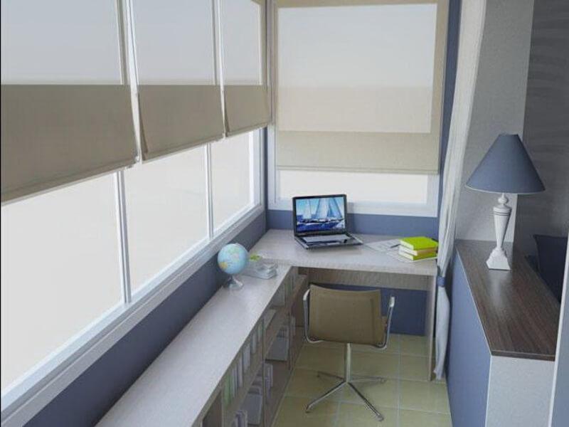 Для утепленного балкона можно использовать абсолютно любые о.